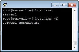 Modificarea numelui și a numelui de domeniu complet în linux (CentOS și Debian)